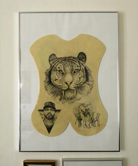 Silicone tattoo art