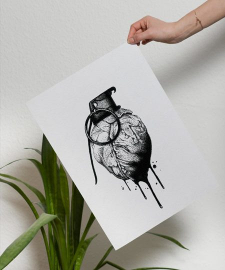 Explosive Love - Print